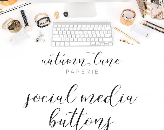 Graphic Design - Social Media Buttons - Business Branding - Branding Package