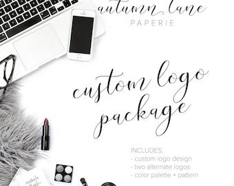 Custom Logo Design Package | Business Logo | Business Branding Package | OOAK Logo | Logo Designer | Logo Design | Luxury Logo | Watercolor