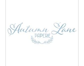 Premade Logo Design, Simple Logo, Watercolor Logo, Watermark Logo, Modern Logo, Elegant Logo, Luxury Logo, Business Logo, Professional Logo
