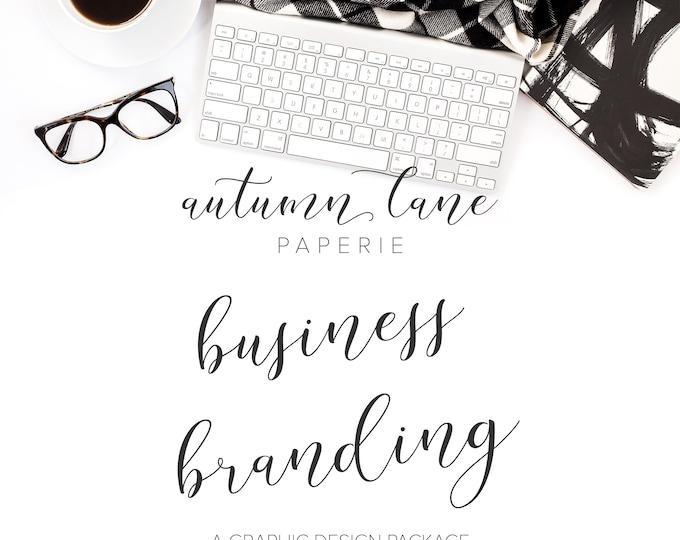Branding Package, Custom Logo Design, Etsy Branding, Blog Branding, Photography Branding, Fashion Branding, OOAK Logo, Feminine Branding