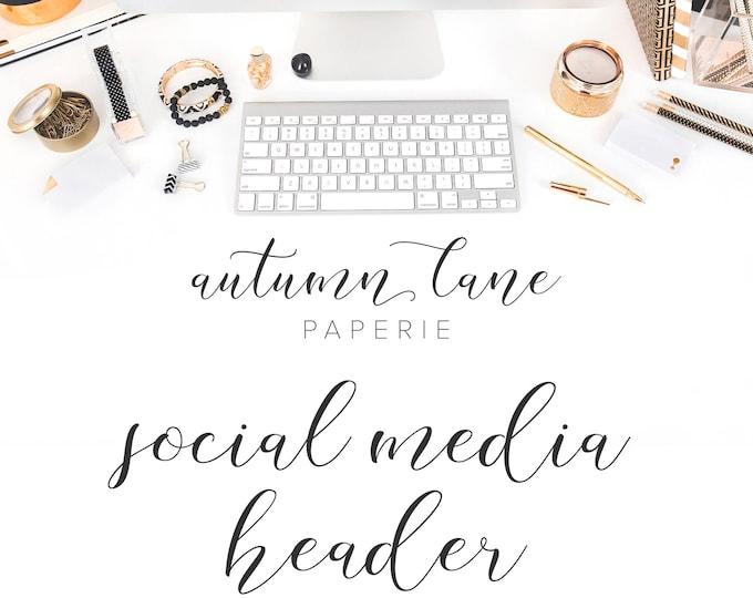 Graphic Design - Social Media Header - Facebook Header, Facebook Cover - Twitter Header - Youtube - Business Branding - Branding Package