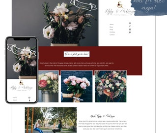 Rigby & McKenzie, Premade Website - Wordpress Website - Website Design - Branded Website - eCommerce Website - Blog - Mobile Friendly Site