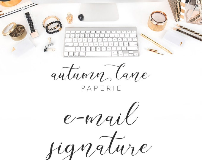 Graphic Design - E-mail Signature - Business Branding - Branding Package