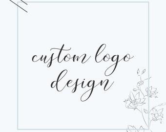 Custom Logo Design • Business Logo Design • Business Branding • Branding Package • 1 of a Kind Logo Design • Graphic Design • Etsy Branding