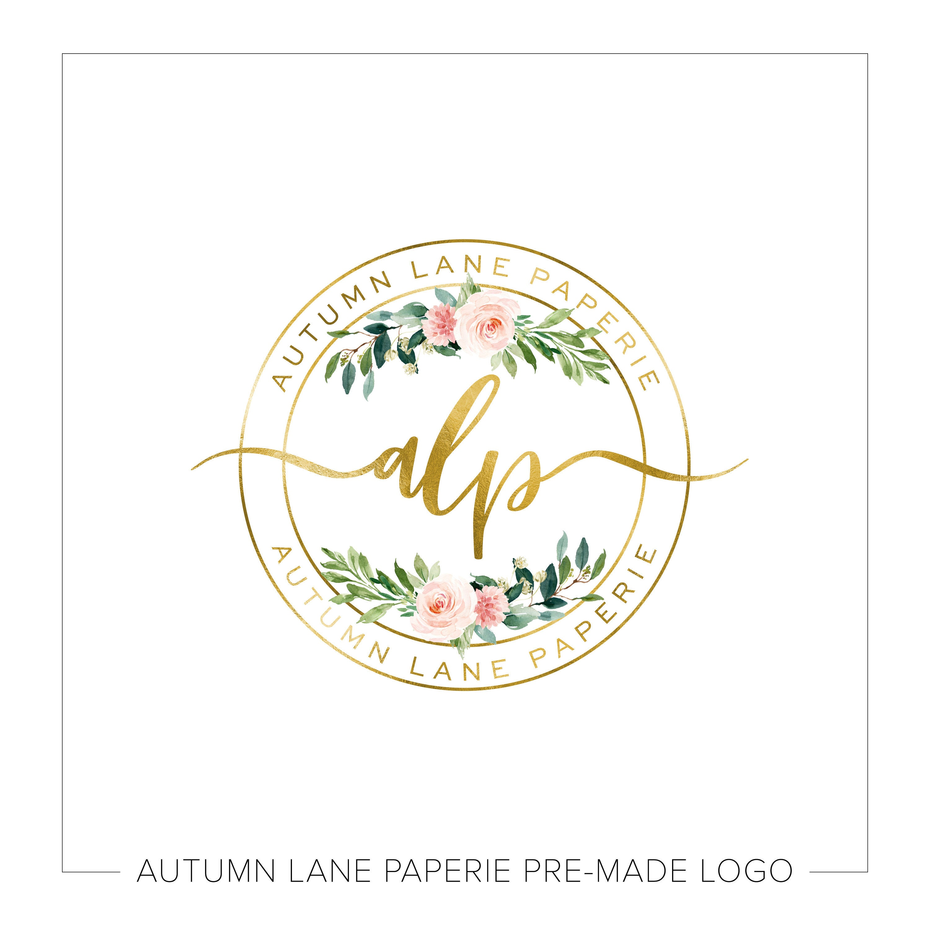 premade logo design watermark logo website logo business logo