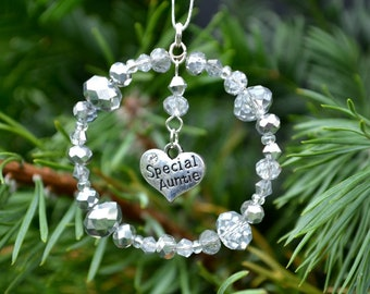 Special Auntie Christmas Gift, Auntie Christmas Decoration, Auntie Christmas Tree Decoration, Auntie Gift, Gift for Auntie, Aunt Gift