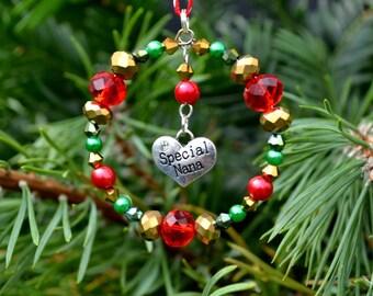 Special Nana Christmas Decoration, Nana Christmas Gift, Grandmother Christmas Tree Decoration, Nana Gift, Gift for Nana, Grandmother Gift