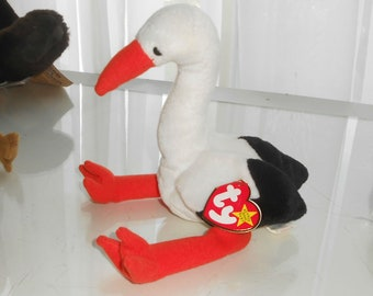 7bd93812dfc TY Beanie Baby Stilts the Stork