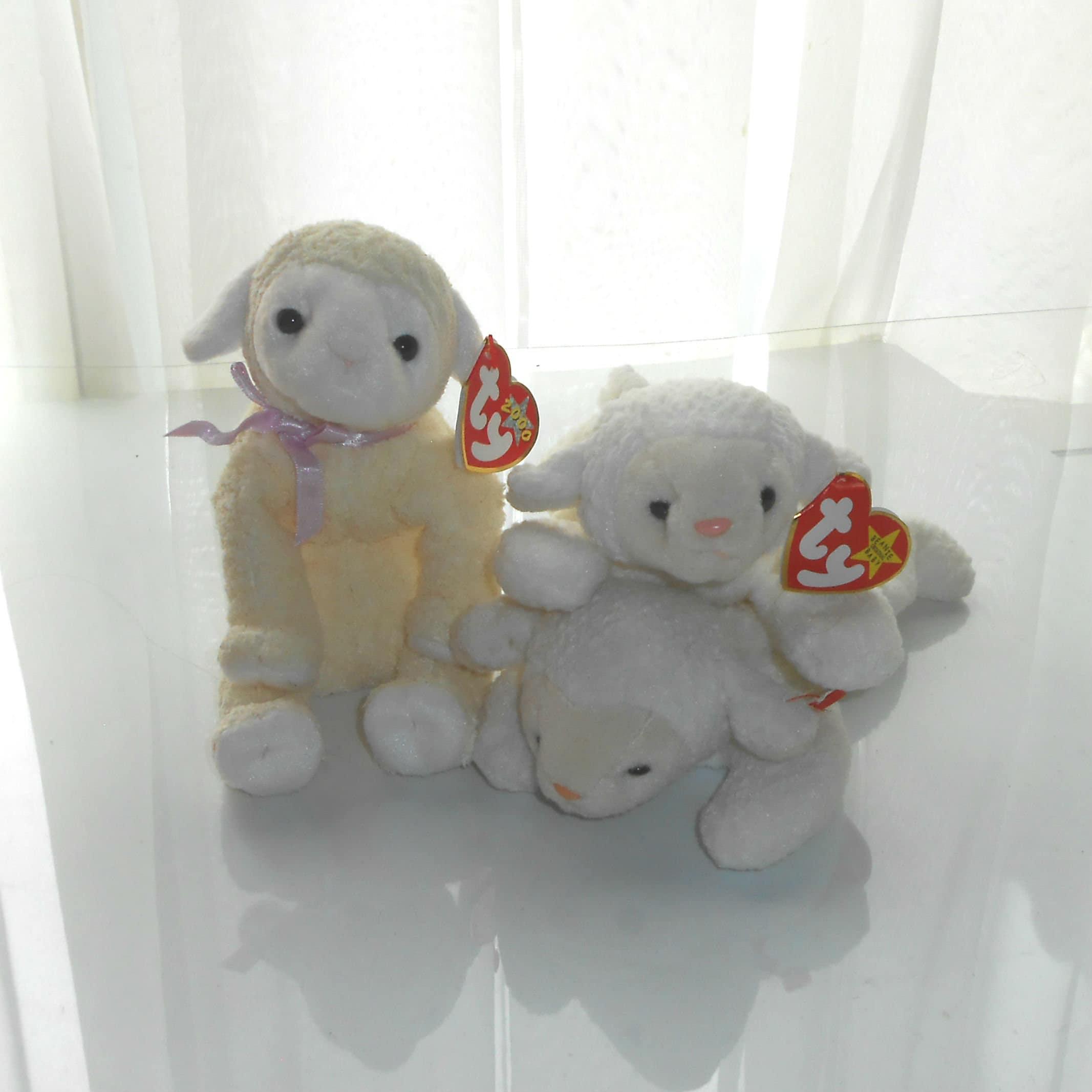 17e9eda5c3c Baby Sheep Plush   Lamb   Fleece   Fleecie Beanie Baby