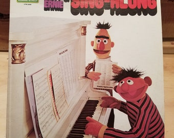 Bert and Ernie 33RPM Vinyl LP Record Album 1975