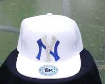2c43b3107b6 New York Yankee Bling Baseball Cap