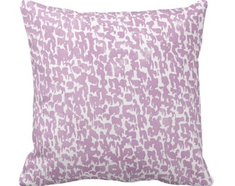 """Lavender Speckled Throw Pillow or Cover 14, 16, 18, 20 or 26"""" Sq Pillows/Covers, Light Purple Geometric/Abstract/Marbled/Confetti/Spots/Dots"""