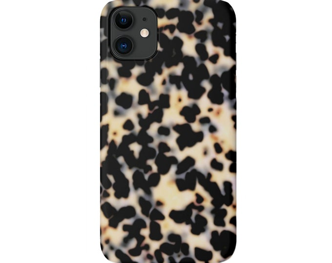 Tortoise Shell iPhone 11, XS, XR, X, 7/8, 6/6S, P/Pro/Plus/Max Snap Case or TOUGH Protective Cover Galactica Printed Tortoiseshell Samsung