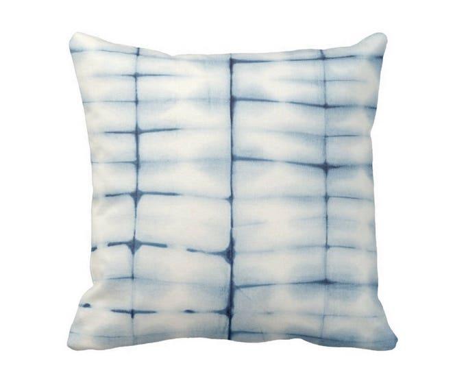 """Indigo Mud Cloth Print Throw Pillow or Cover, Indigo 16, 18, 20, 26"""" Sq Pillows or Covers, Mudcloth/Boho/Tribal/Geometric/Design"""