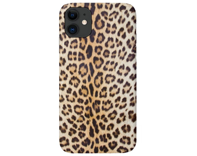 Leopard Print iPhone 12, 11, XS, XR, X, 7/8, 6/6S P/Pro/Plus/Max Snap Case or TOUGH Protective Cover, Animal/Cheetah Print/Pattern, Galaxy