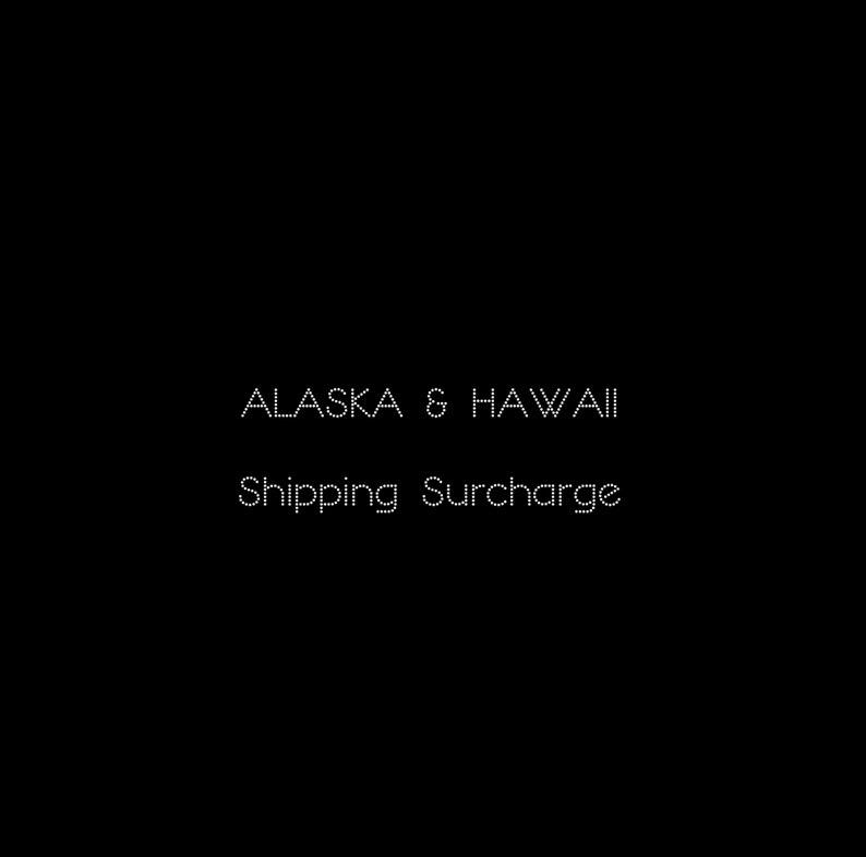 MOUSEPAD Shipping Surcharge for Alaska & Hawaii  SHIPPING image 0