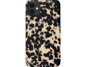 Tortoise Shell iPhone 12, 11, XS, XR, X, 7/8, P/Pro/Plus/Pro Max/Mini Snap Case/TOUGH Protective Cover Galactica Printed Tortoiseshell