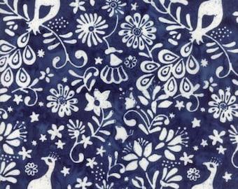 Moda LONGITUDE BATIKS by Kate Spain-navy/deep blue (27259 73)-by the YARD