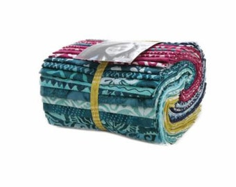 Moda F8 Bundle-LONGITUDE batiks-by Kate Spain