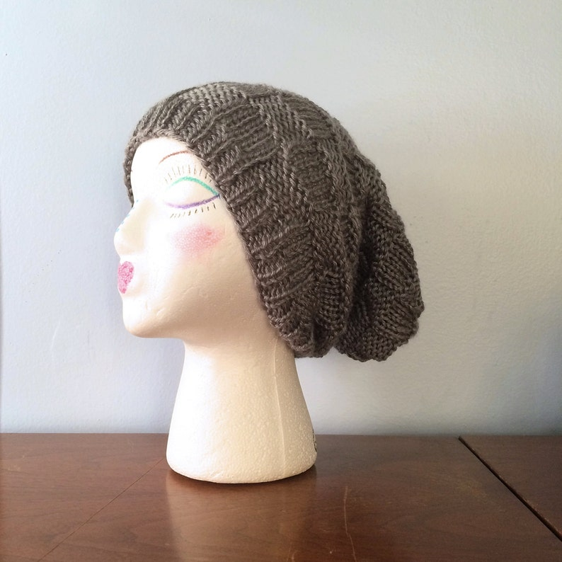 5cff608fe1c Womens Slouchy Beanie Manx Knitted Slouch Hat