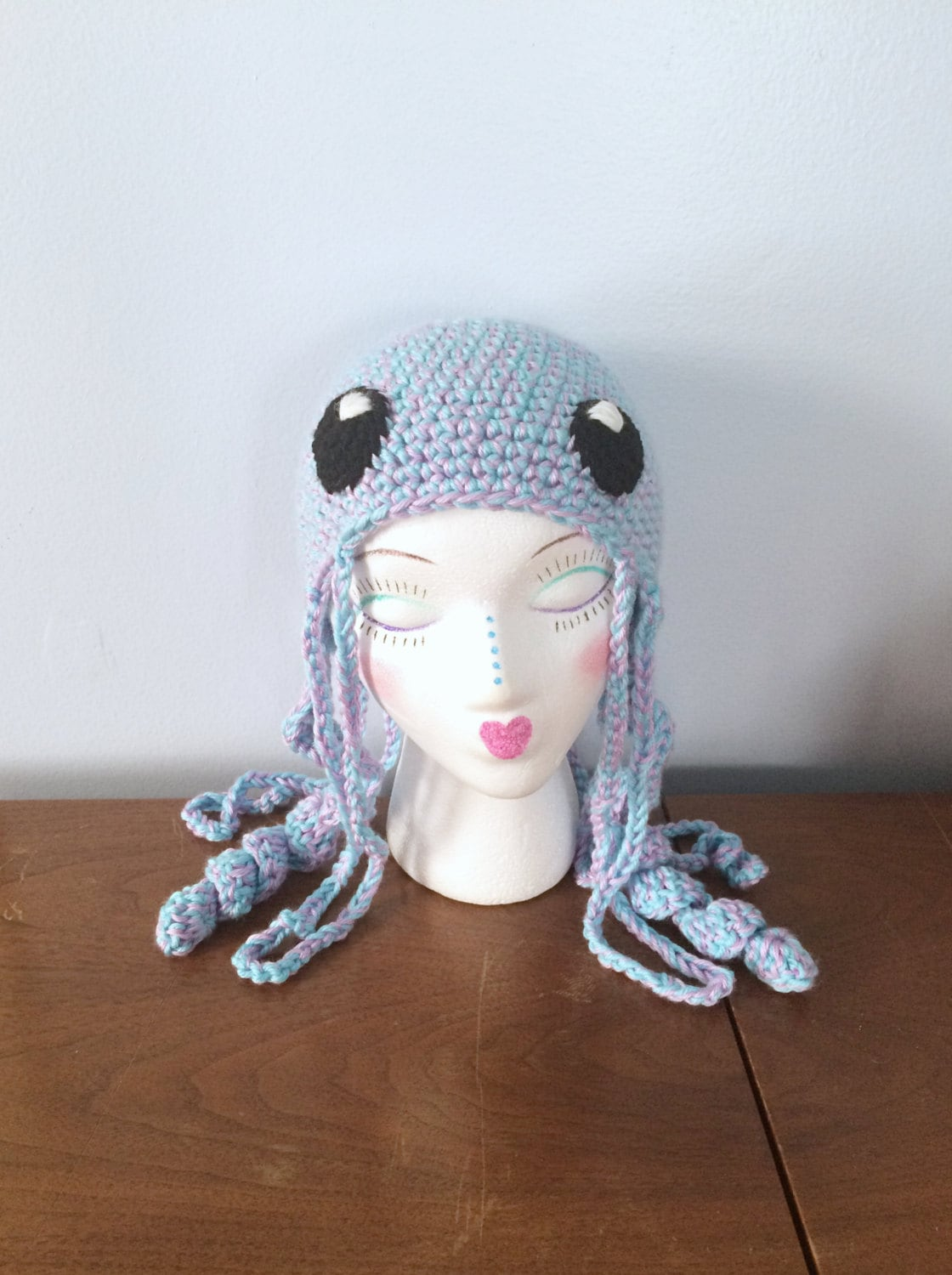 Crochet Jellyfish Hat Juno Winter Hats Adult  c978335a370d