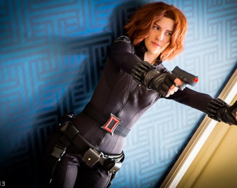 Black Widow Avengers Cosplay Sewing Pattern