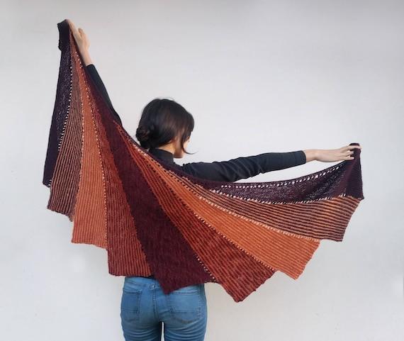 ultime tendenze vendita calda autentica repliche Scialle 'Butterfly' di lana fatto ai ferri
