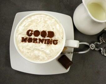 ähnliche Artikel Wie Ich Liebe Dich Mehr Kaffee Schablone