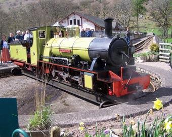 Photograph: Northern Rock locomotive (II) Ravensglass & Eskdale Railway