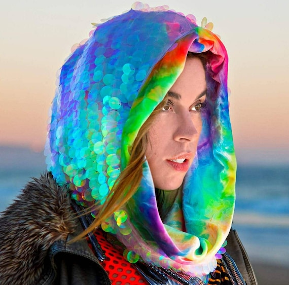 Lucid Lizard Collection - Hologram Glow Hood