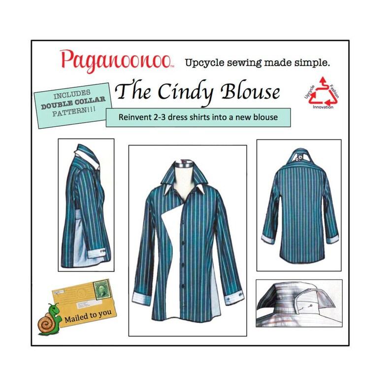 Sewing instructions PAGANOONOO Cindy blouse & image 0