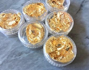 24mm x 29mm  5.8g  2pcs Extra Large 1030114  Pacific Opal  16k Matt Gold Plated Brass Framed Glass Pendant