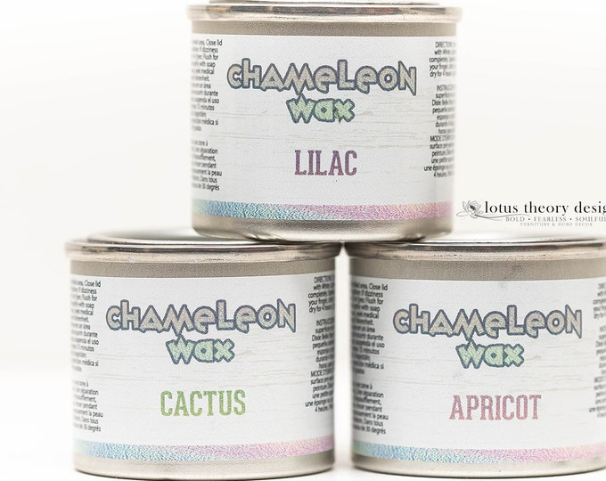 Dixie Belle CHAMELEON Wax Collection, All 3 colors ,  Dixie Belle Wax, Decor Wax, Dixie Belle Wax