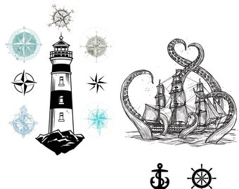 Nautical Life  Dixie Belle transfer, nauticall Transfers,  Lighthouse transfer , Dixie Belle Transfer, Free shipping