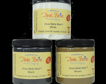 Dixie Belle MUD White Black Brown