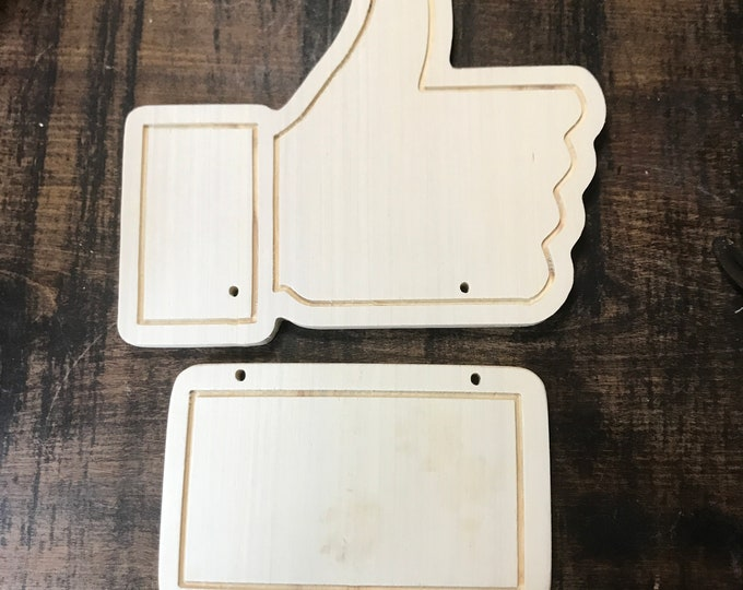 DIY Facebook Sign for your business, booth, or home