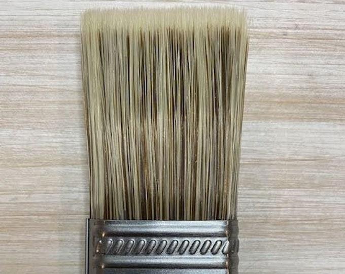 Wise Owl Premium Flat Paint Brush, 1.5 inch , Premium Brush, Paint Gift, Craft supply  FREE SHIPPING