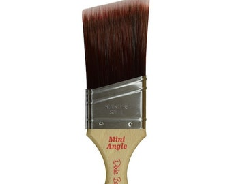 Dixie Belle Angle Mini Brush, Angle Brush, Paint Brush, Synthetic Paint Brush, Free shipping