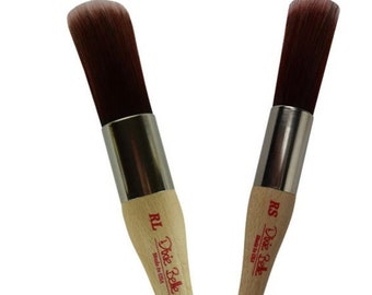 Round Brush from Dixie Belle, Wax Brush, Paint Brush,  Silk Paint brush, Synthetic Premium Brush, Paint Gift, Craft supply  FREE SHIPPING