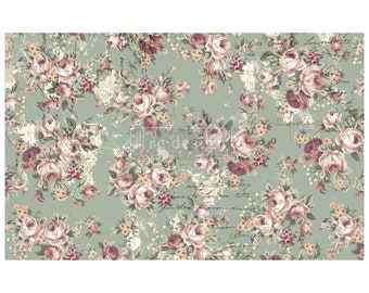 """NEW OLIVIA Prima Decoupage Mulberry Tissue Paper,  Free Shipping  19"""" x 30"""" Re-Design with Prima"""
