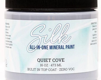 QUIET COVE SILK One Step Mineral Paint from Dixie Belle Paint for furniture painting, cabinet painting, door paint, decor