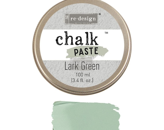 Chalk Paste for stencils  LARK GREEN from Prima Redesign, free shipping