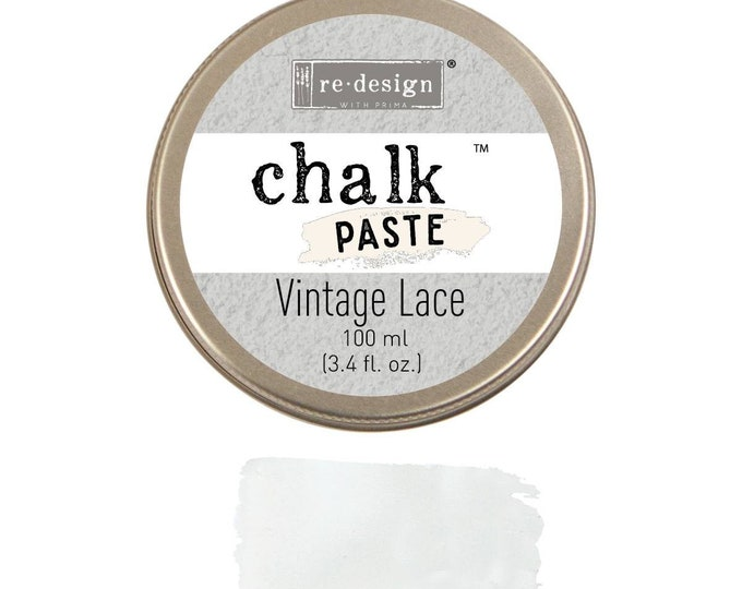 Chalk Paste for stencils  VINTAGE LACE from Prima Redesign, free shipping