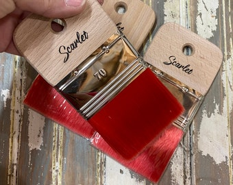 NEW SCARLET Paint brush from Dixie Belle Paint with Free Shipping