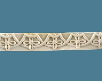 T23 Celtic Art Deco  Trim, EFEX , Replacement Moulding, Historic Moulding, Silicone Moulding, Embellishment  , Made In USA, Free Shipping