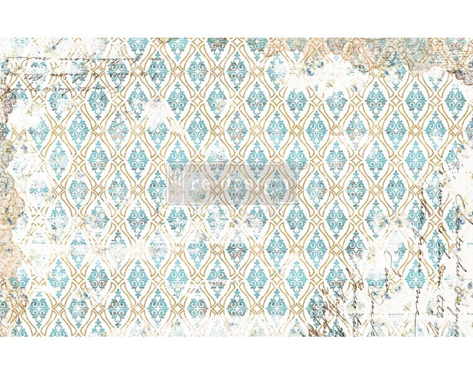 """NEW DISTRESSED DECO Prima Decoupage Mulberry Tissue Paper,  Free Shipping  19"""" x 30"""" Re-Design with Prima"""