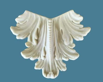 L4 Acanthus and Bead Leg, EFEX , Replacement Moulding, Historic Moulding, Silicone Moulding, Embellishment  , FREE SHIPPING