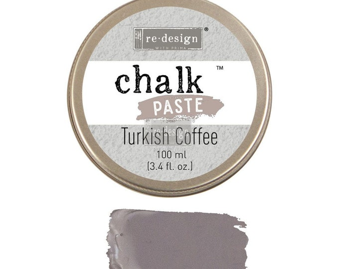 Chalk Paste for stencils  TURKISH COFFEE from Prima Redesign, free shipping