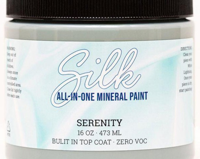 PREORDER SILK All in One Mineral Paint from Dixie Belle Now!  Serenity Shipping late January.