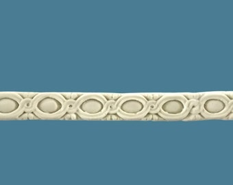 T27 Art Deco Trim, EFEX, Replacement Moulding, Historic Moulding, Silicone Moulding, Embellishment  , Made In USA, Free Shipping